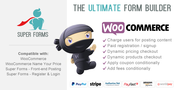 Super Forms WooCommerce Checkout Add-on v1.2.0