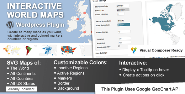 Interactive World Maps v1.99