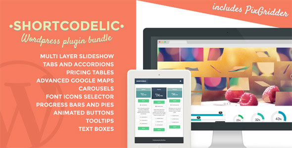 Shortcodelic v2.4.8 - WordPress Plugin Bundle