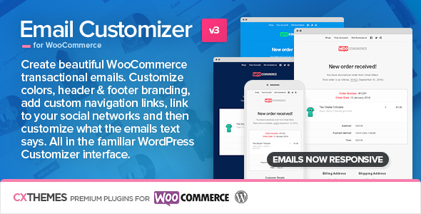 Email Customizer for WooCommerce v3.20