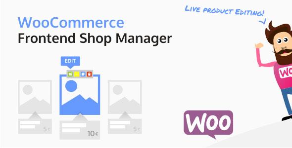 WooCommerce Frontend Shop Manager v4.1.0