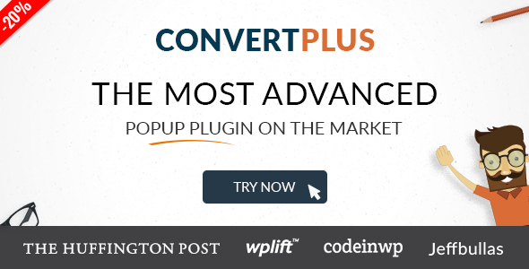 ConvertPlus v3.4.1 - Popup Plugin For WordPress