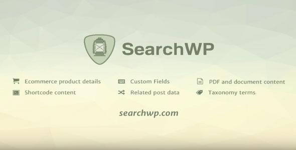 SearchWP WordPress Plugin v3.1.9 + Addons