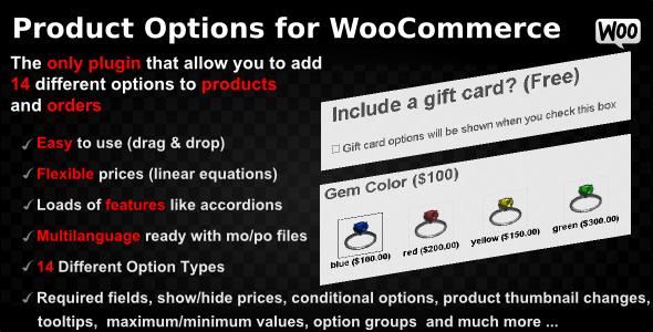 Product Options for WooCommerce v4.148 - WP Plugin