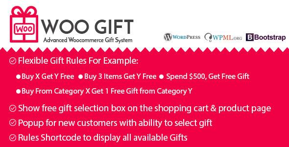Woo Gift v5.0 - Advanced Woocommerce Gift Plugin