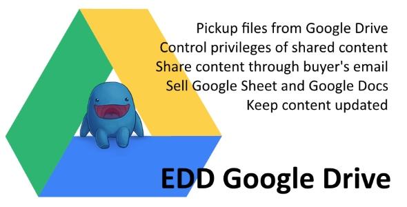 EDD Google Drive v1.0.1