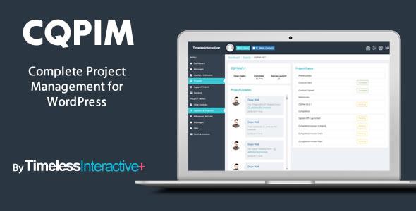 CQPIM WordPress Project Management Plugin v3.2.2