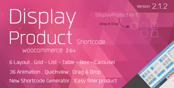 Display Product v2.1.2 - Multi-Layout for WooCommerce