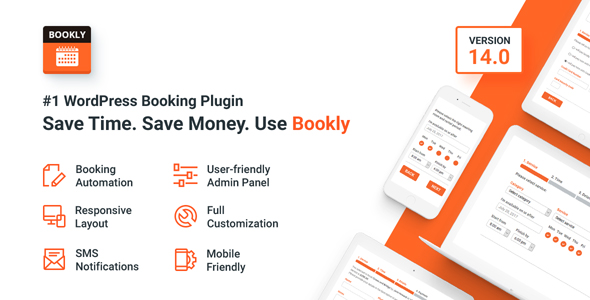Bookly Booking Plugin v14.0 – Responsive Appointment Booking