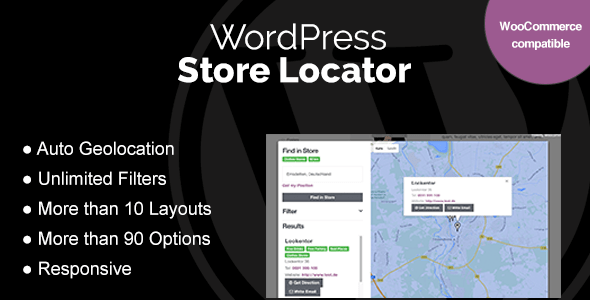 WordPress Store Locator v1.7.15