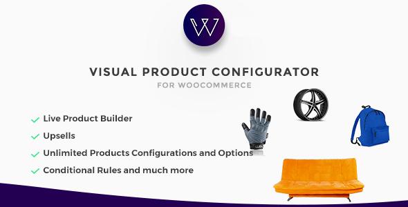 Woocommerce Visual Products Configurator v3.5