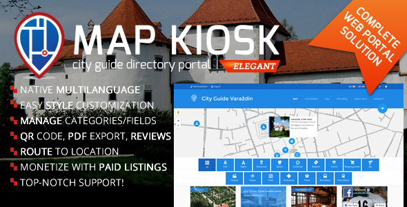City Guide Directory Portal v1.6.6 – nulled