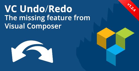 Visual Composer Undo/Redo Buttons v1.2.4