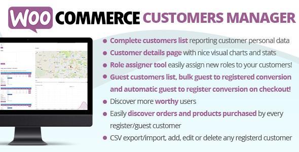 WooCommerce Customers Manager v21.2