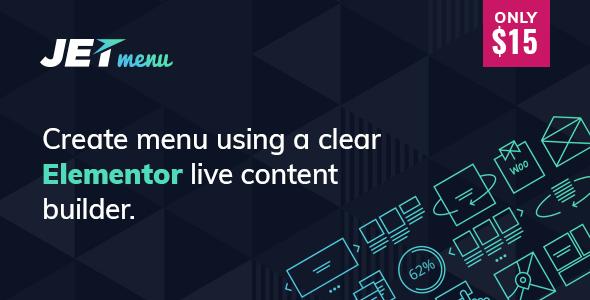 JetMenu v1.3.4.1 - Mega Menu for Elementor Page Builder