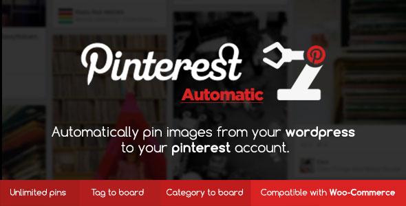 Pinterest Automatic Pin WordPress Plugin v4.9.0