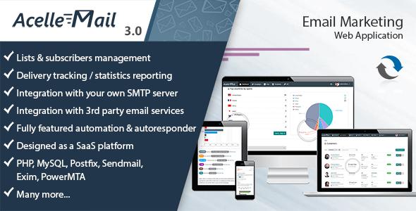 Acelle Email Marketing Web Application v3.0.18