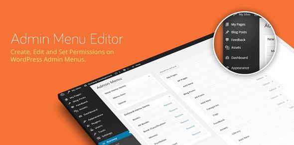 Admin Menu Editor Pro v2.14