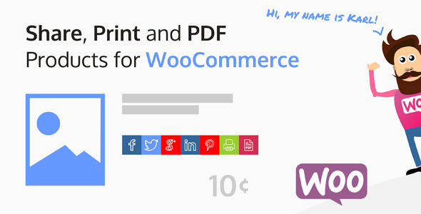 Share, Print and PDF Products for WooCommerce v2.0.5