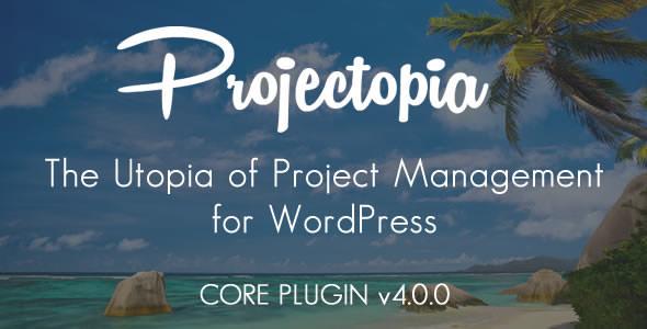 Projectopia WP Project Management v4.0.7