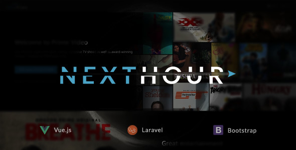 Next Hour v1.6 - Movie Tv Show & Video Subscription Portal Cms
