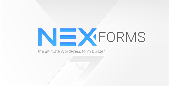 NEX-Forms v7.5.3 – The Ultimate WordPress Form Builder