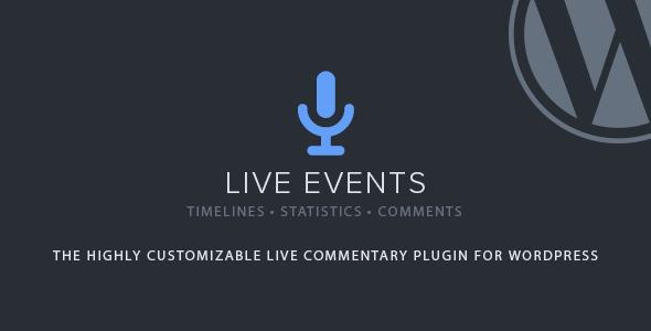 Live Events v1.2.5 - Premium WordPress Plugin