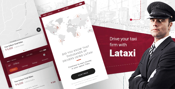 LaTaxi – On Demand Taxi Booking Application Script – April 2019 Update