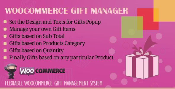WooCommerce Gift Manager v2.4