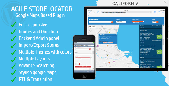 Store Locator (Google Maps) For WordPress v4.5.1