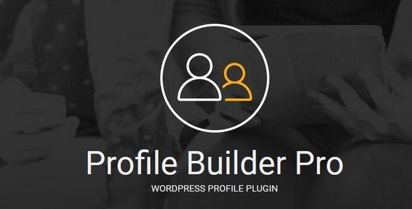 Profile Builder Pro v3.0.8 – WordPress Profile Plugin