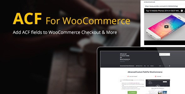 Advanced Custom Fields for WooCommerce v4.0