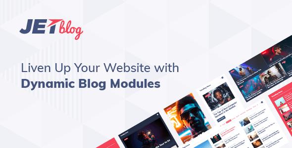JetBlog v2.1.12 – Blogging Package for Elementor Page Builder