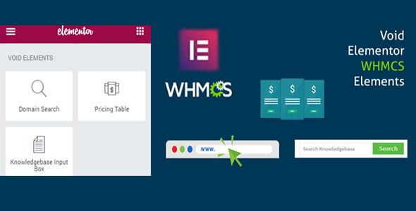 Elementor WHMCS Elements Pro For Elementor Builder v3.0