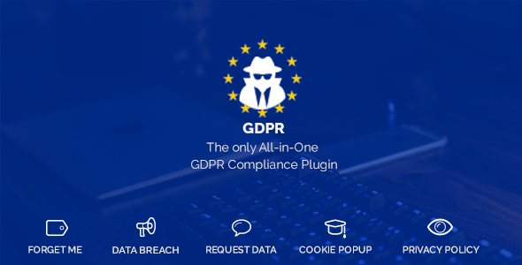 WordPress GDPR v1.8.9