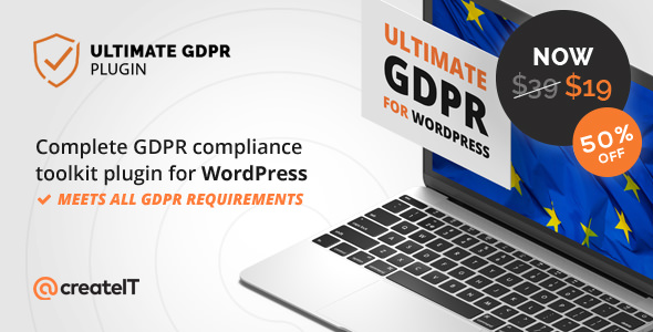 Ultimate GDPR v1.6.5 - Compliance Toolkit for WordPress