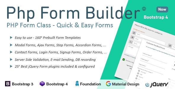 PHP Form Builder v3.5.1