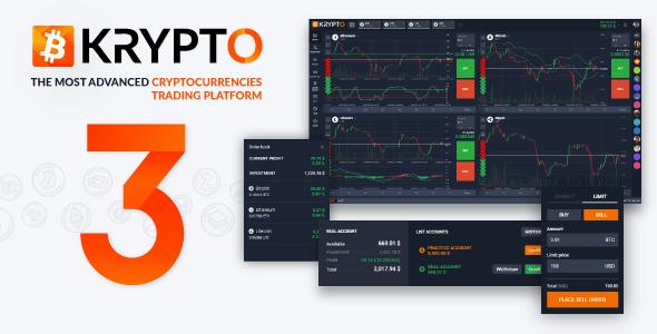 Krypto v3.0.0 - Live Trading, Advanced Data, Market Analysis, Watching List