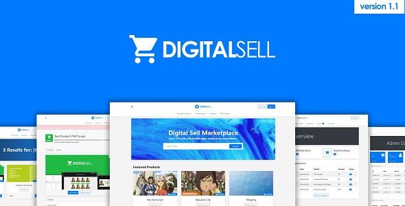 Digital Sell Marketplace PHP Script v1.1