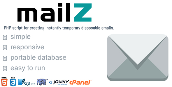 MailZ - Simple Disposable Temporary Email
