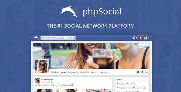 phpSocial v4.4.0 - Social Network Platform