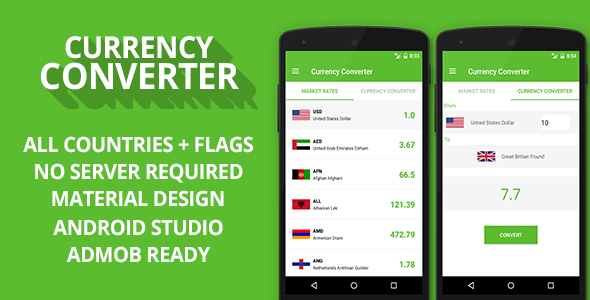 Currency Converter + Admob Ready 1.2
