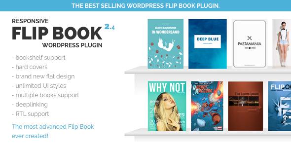 Responsive FlipBook WordPress Plugin v2.4.5