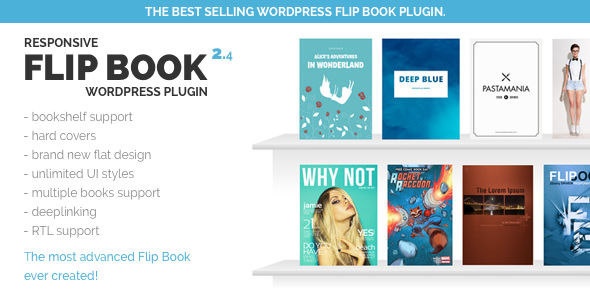 Responsive FlipBook WordPress Plugin v2.4