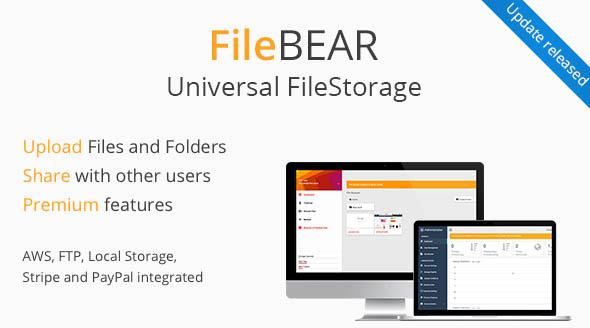 FileBear v1.5 - Premium File Sharing