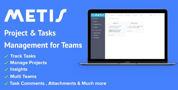 Metis v1.1.2 - Team Collaboration and Project Management Platform