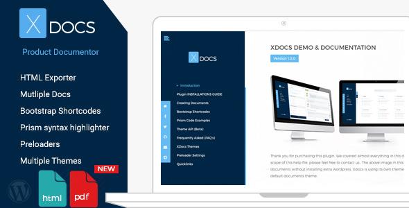 X Docs v1.0.6 – WordPress Product Documentation Creator
