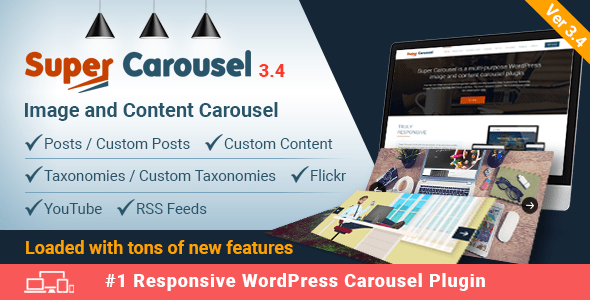 Super Carousel v3.4 - Responsive WordPress Plugin