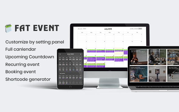 FAT Event v1.3.5 – WordPress Event and Calendar Booking