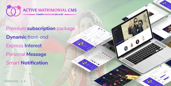Active Matrimonial CMS v1.4